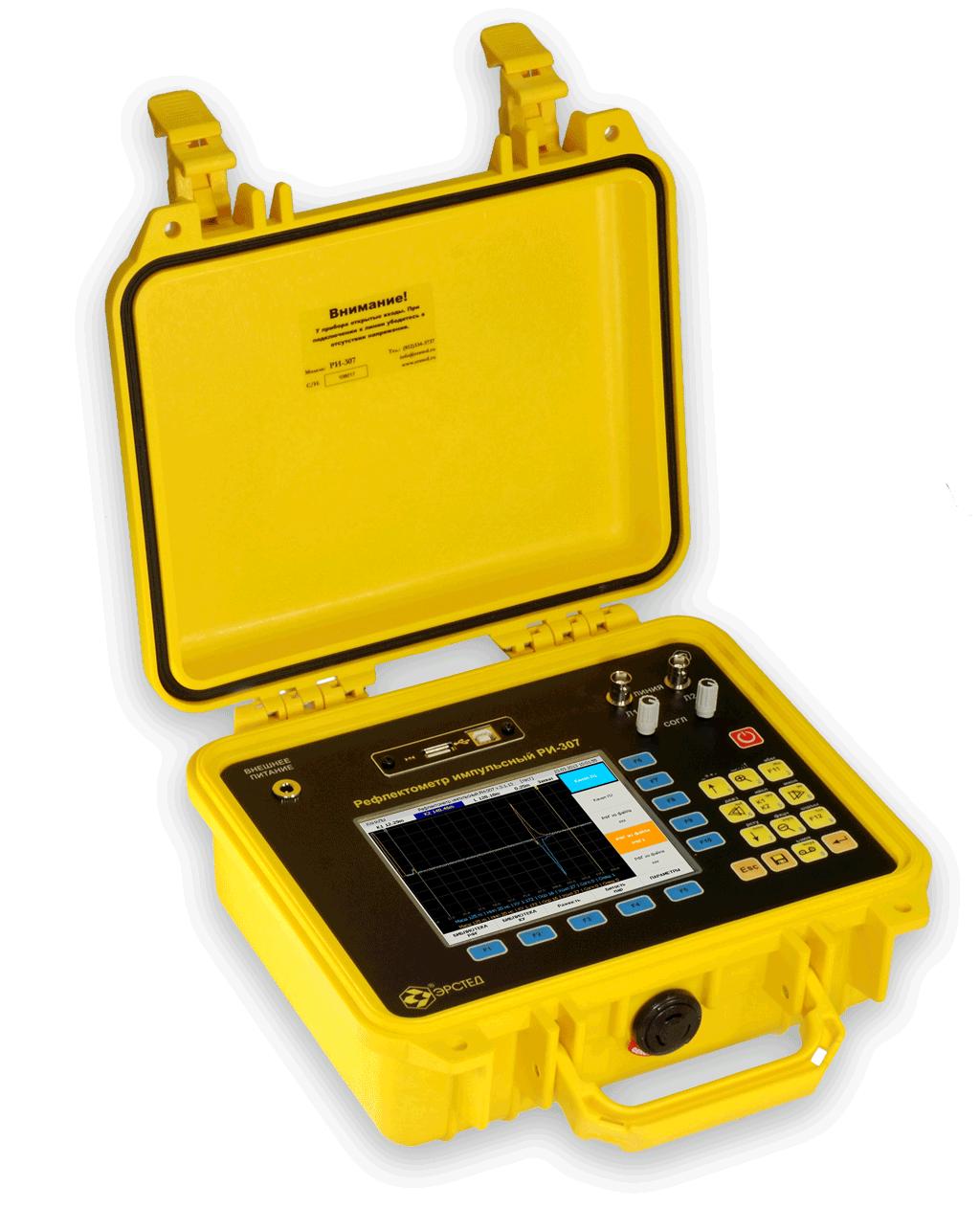 рефлектометр ри-307 схема